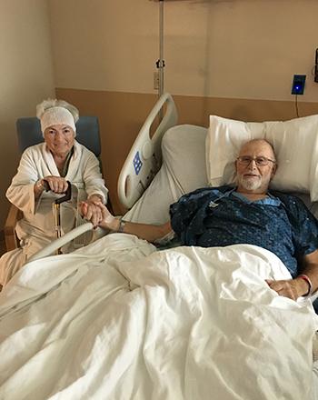 Hospital patients in St. Petersburg, Florida