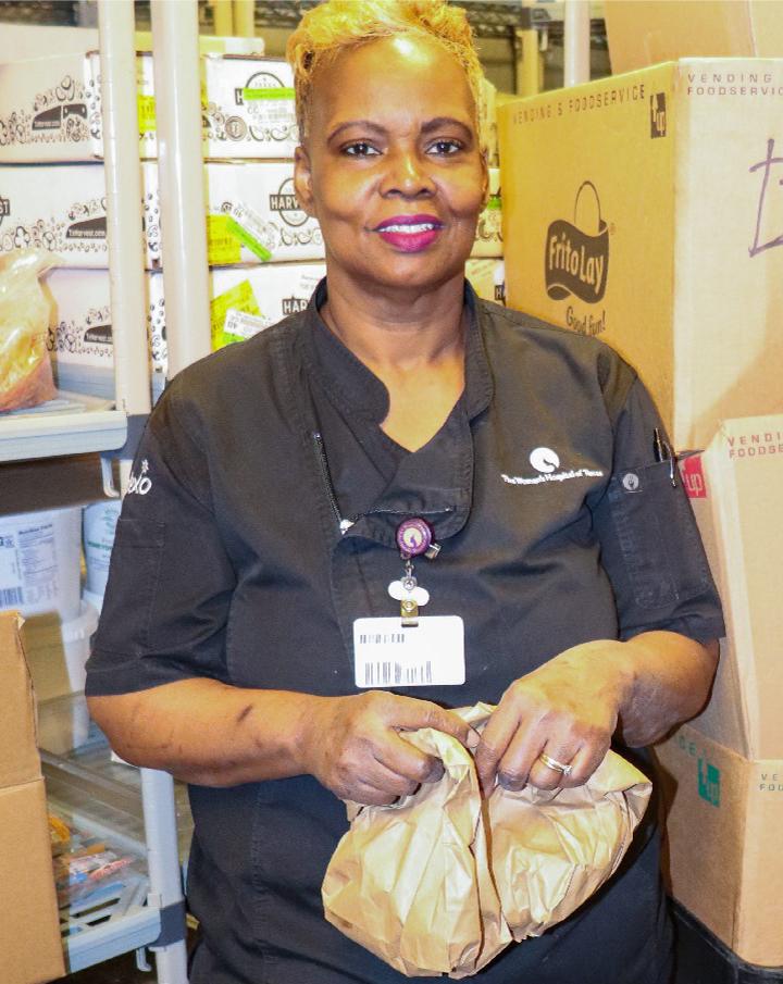 Aleshia Cooper, Dietary Services Supervisor, The Woman's Hospital of Texas, Houston