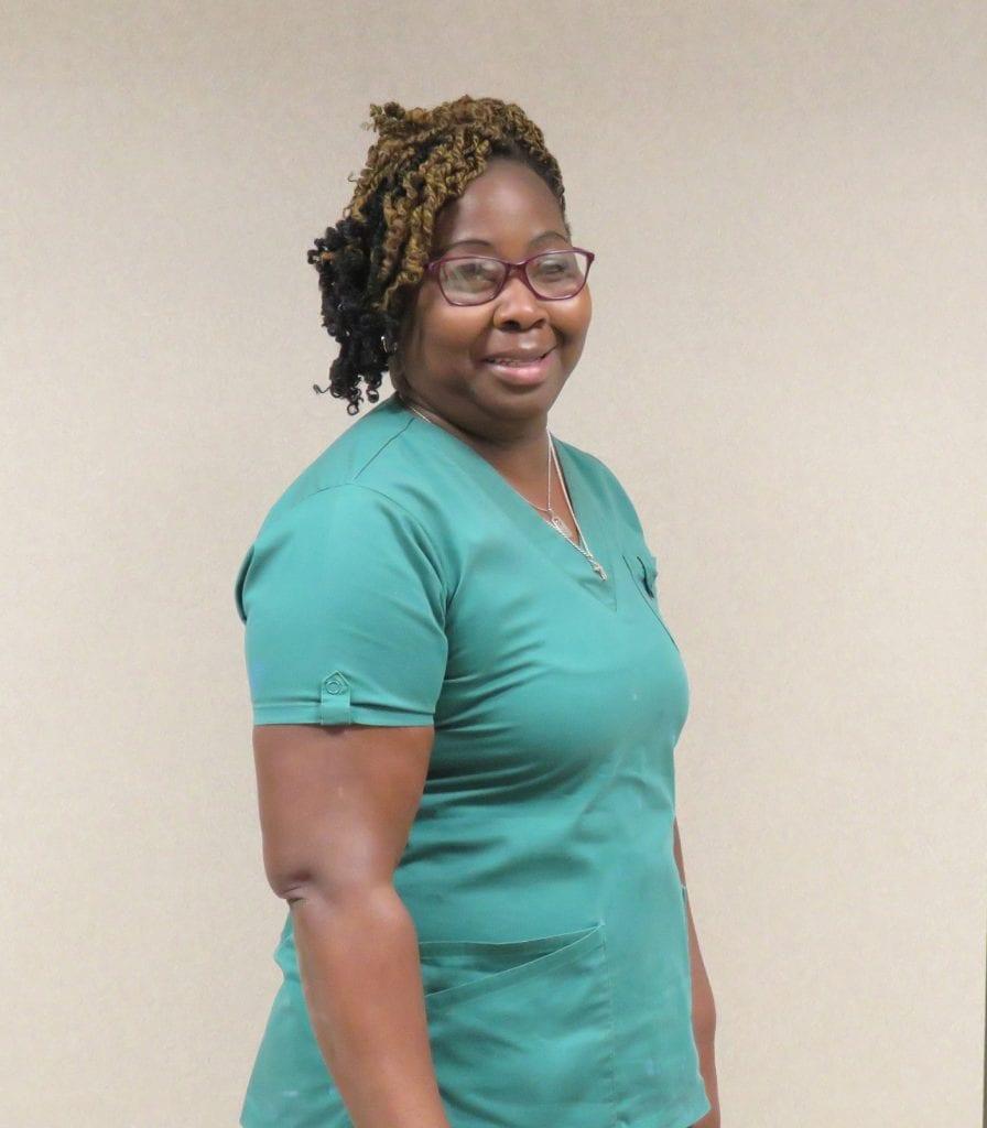 Tracy Sherman, EVS tech, Grand Strand Medical Center, Myrtle Beach, S.C.