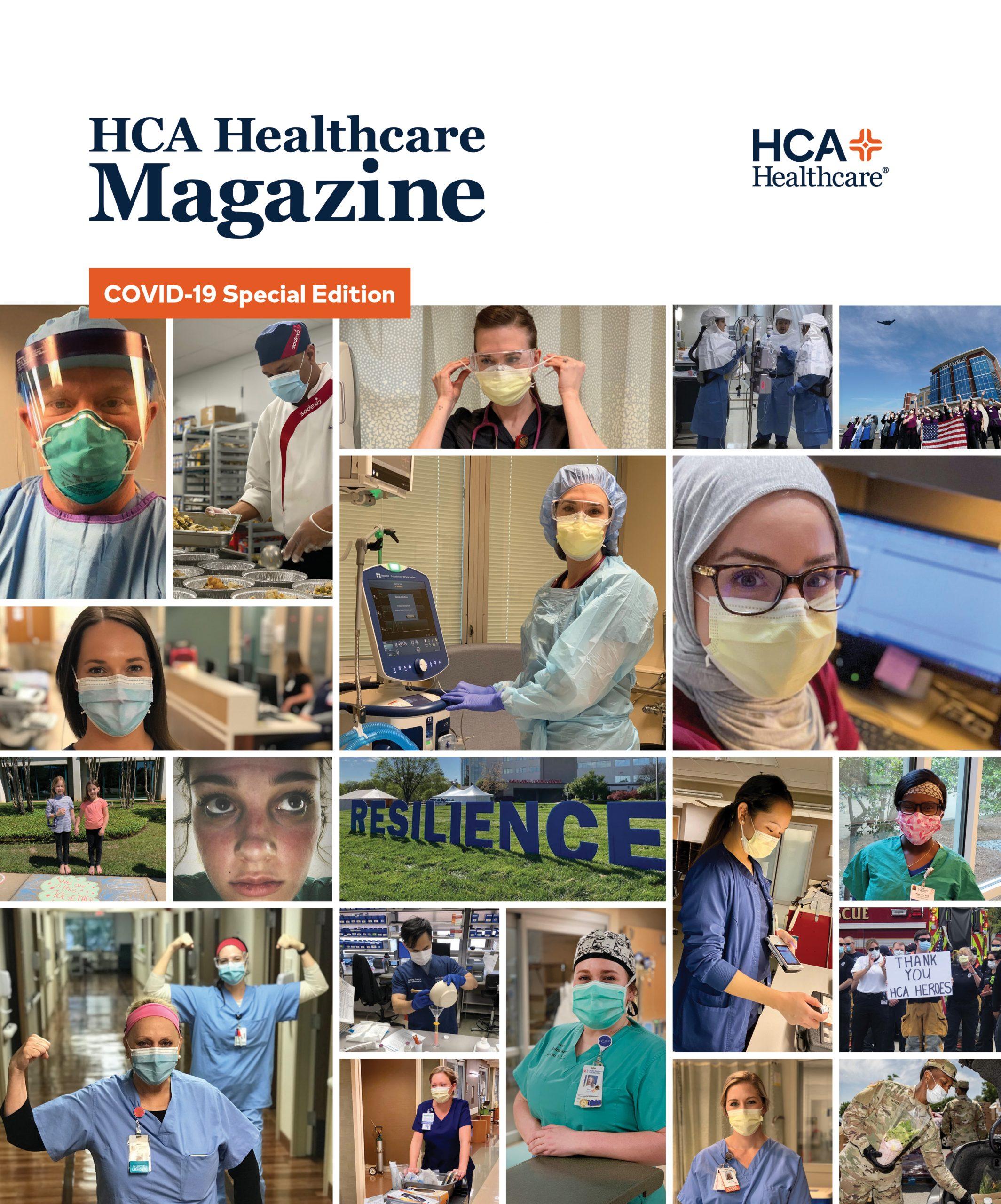 HCA Healthcare Magazine Summer 2020 issue cover