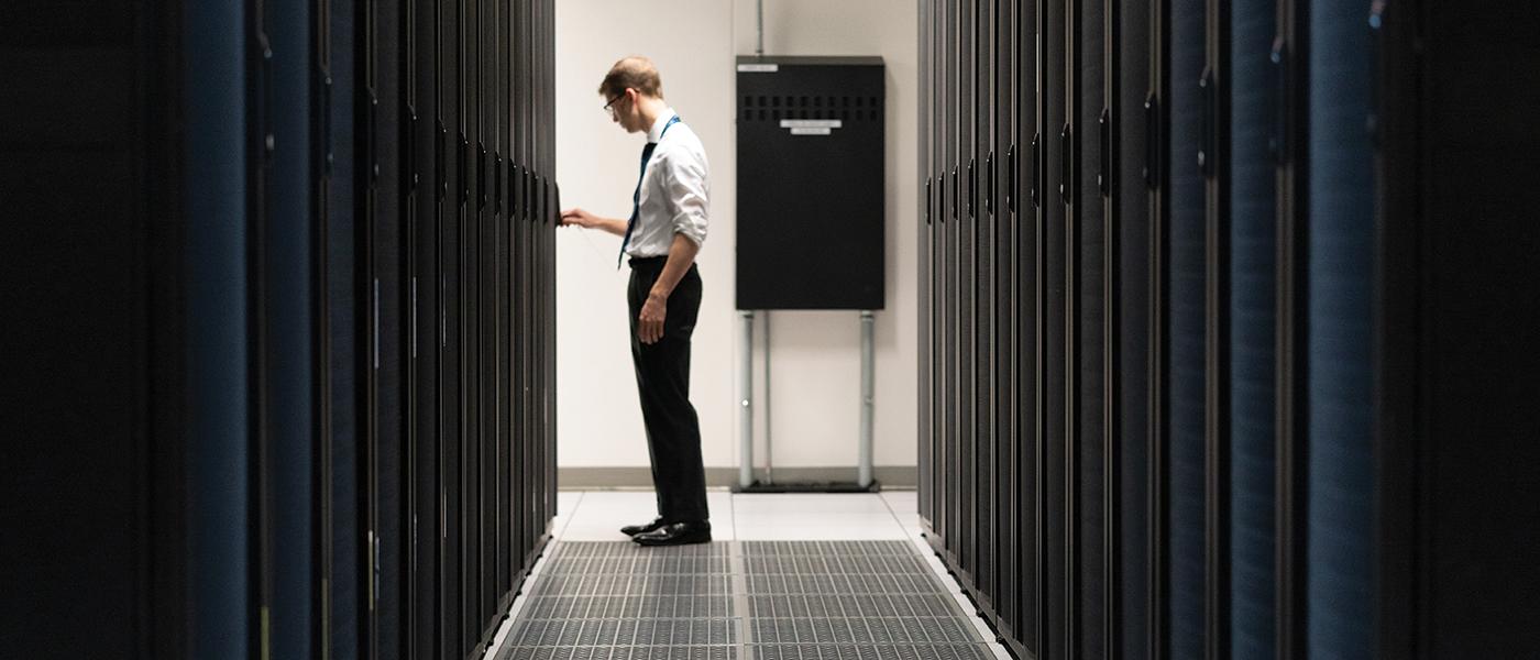 Daniel O'Neal, Systems engineer, Crossings Data Center Antioch, Tenn.