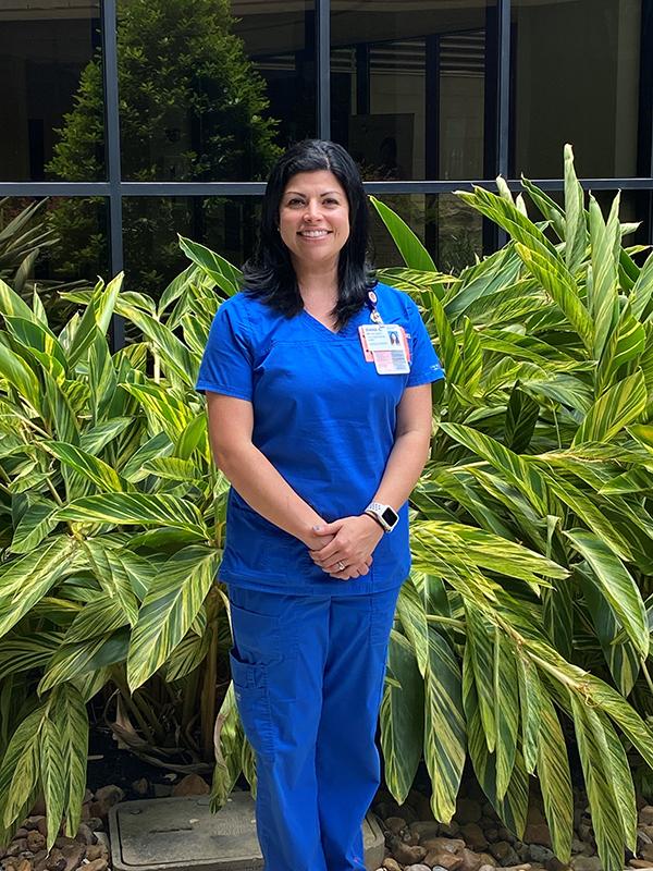 Diana Gayle, a cardiovascular coordinator at HCA Houston Healthcare Tomball