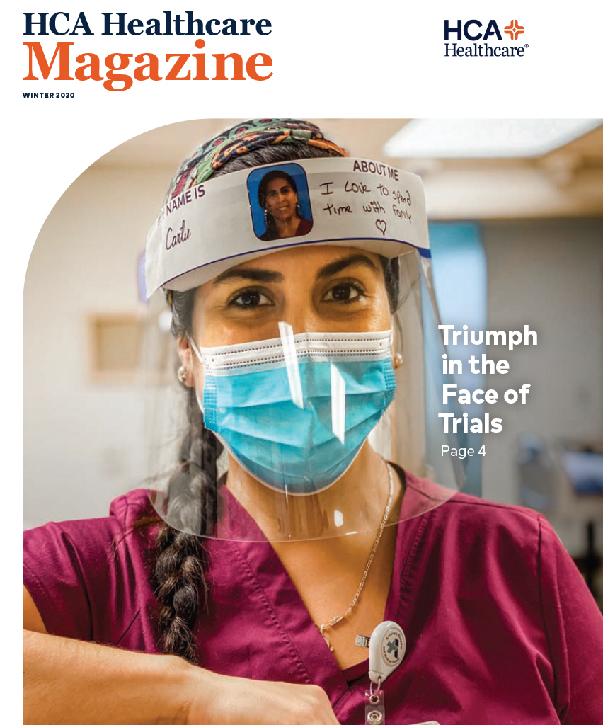 HCA Healthcare Magazine Cover Winter 2020
