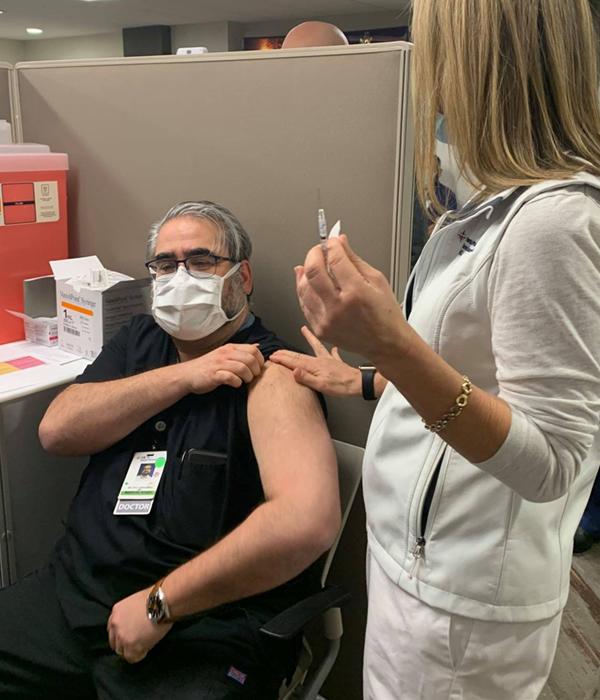 covid 19 vaccines bring hope Dr. Vito Capotorto