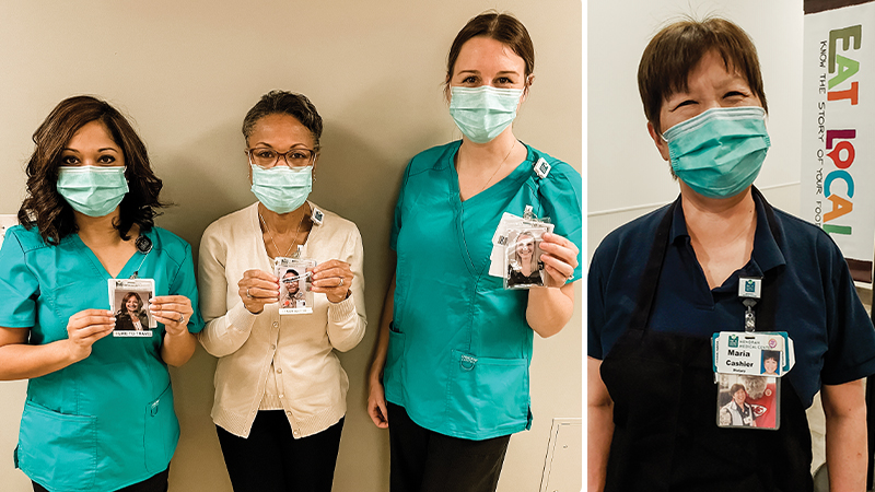 Beyond the Mask, colleagues stay connected and bring smiles