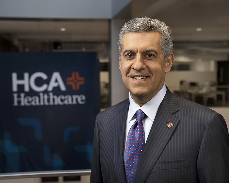 CEO Sam Hazen HCA Healthcare