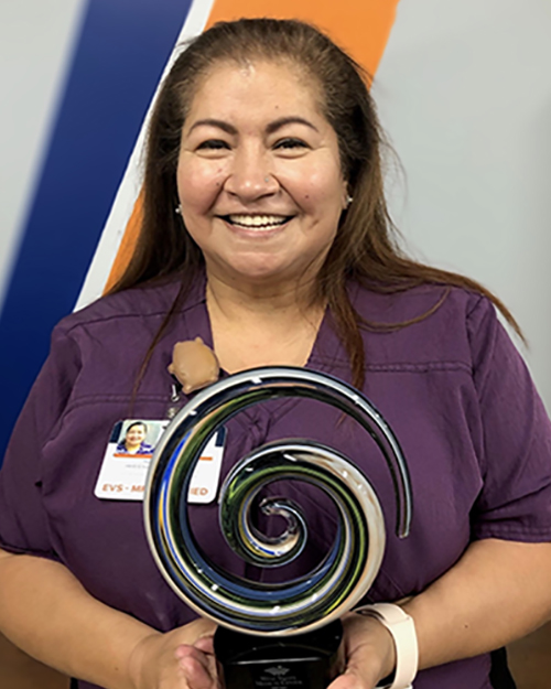 Irene Salazar Housekeeper Environmental Services HHS West Valley Medical Center Caldwell, Idaho